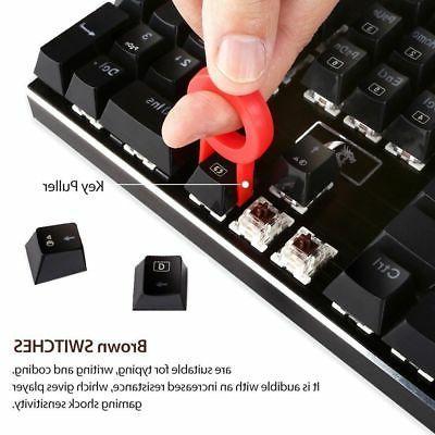 Redragon K556 Keys Gaming Keyboard + 8PCS Switches