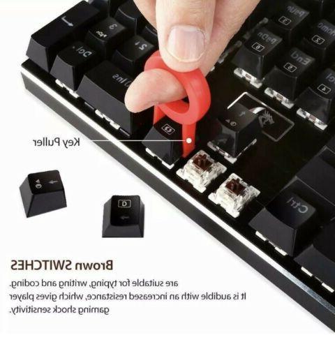 DEVARAJAS Backlit Wired Gaming Keyboard FREE SH