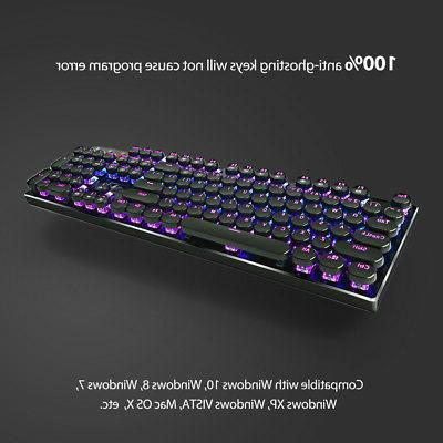 Redragon Backlit Mechanical Keyboard with Brown Switches