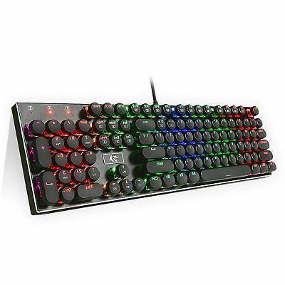 k556 rk rgb led backlit mechanical gaming