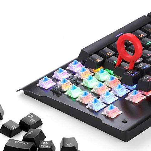Redragon K561 Keys Anti-ghosting Waterproof with Blue Switches