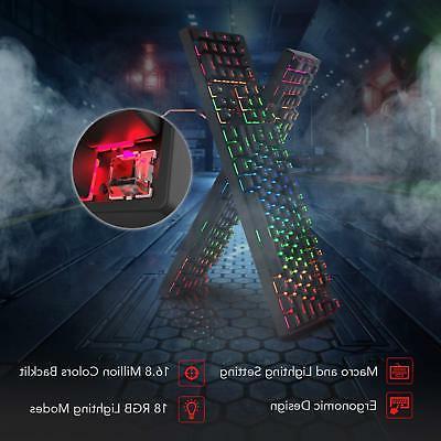 Redragon K582 Gaming Keyboard 10000 Mouse Set