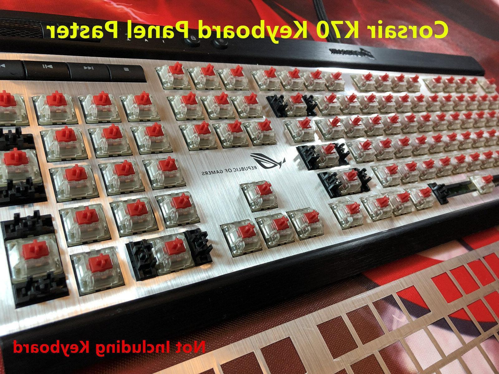 Corsair K70 LUX Strafe RGB Set Accessories