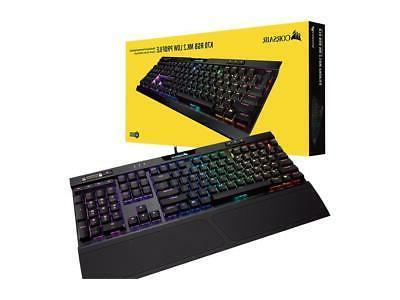 Corsair K70 RGB MK.2 Low Profile Mechanical Keyboard, Ch
