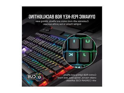 Corsair K70 RGB Low Profile Mechanical Keyboard, Backlit Ch