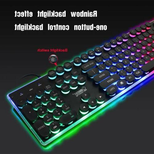 Keyboard Mouse Set Adapter for One and Xbox 360 Gaming Rainbow