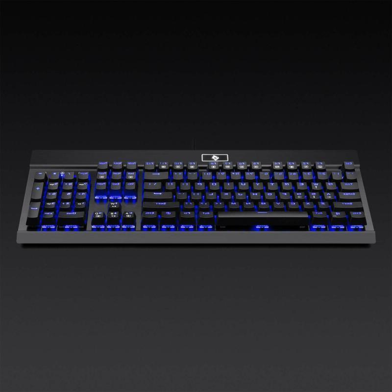 Eagletec Mechanical Keyboard Blue Switches Keys Natural Ergono