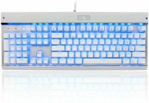 Eagletec KG011 Keyboard Blue Keys for