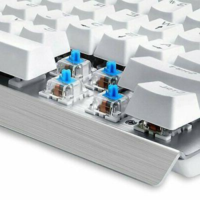Eagletec Mechanical Blue Switches 104 Lighted Keys