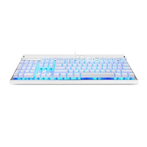 Eagletec USB Keyboard, Aluminium, Backlit and Switch with 104 Illuminated Keys Office