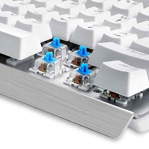 Eagletec USB Ergonomic Keyboard, and 104 Keys for PC Office Gamer