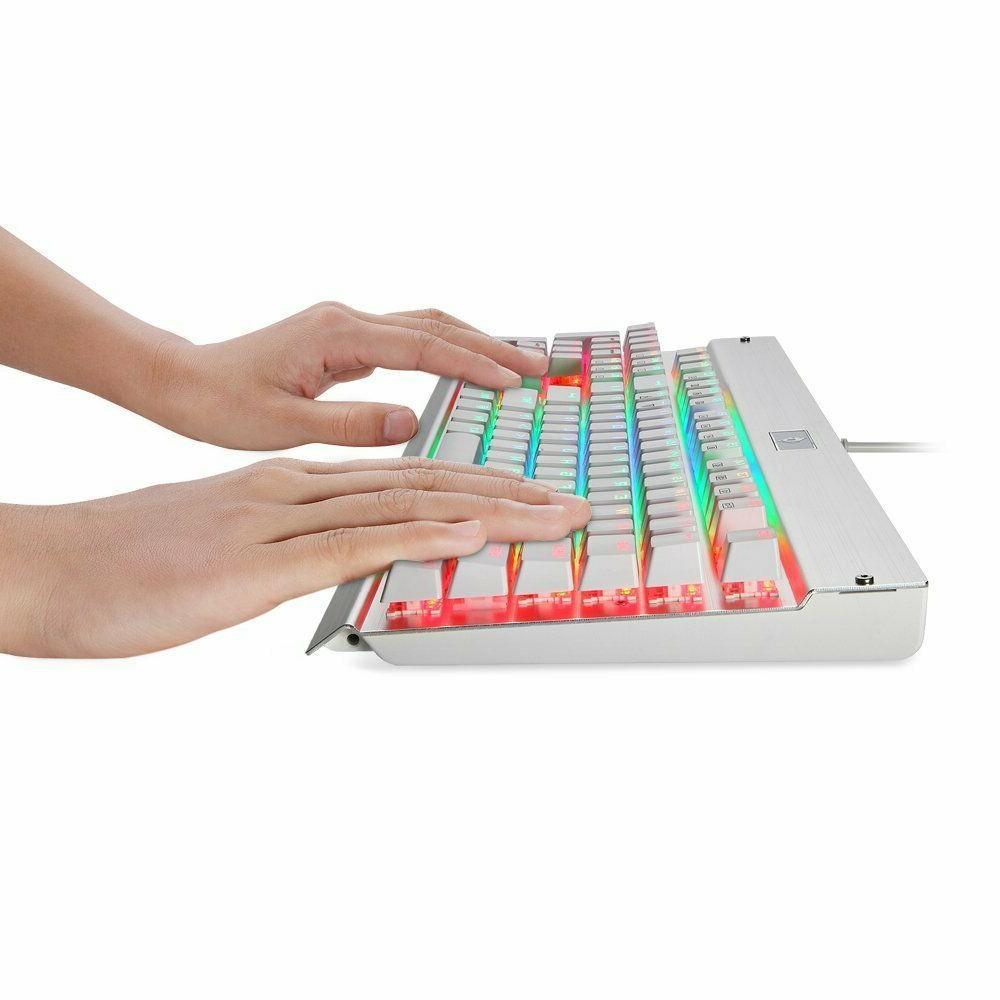 EagleTec KG011_RGB Mechanical Wired Keyboard RGB Backlit