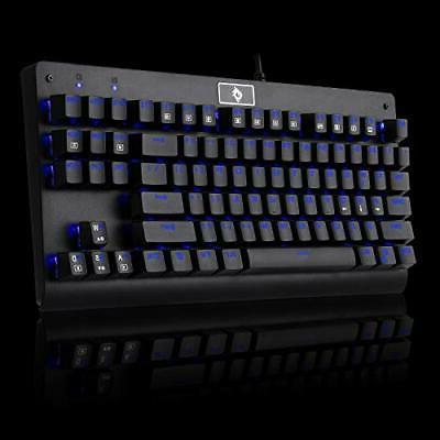 Eagletec KG040 Mechanical Gaming Keyboard Blue LED