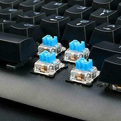 Eagletec KG040 Mechanical Keyboard Blue