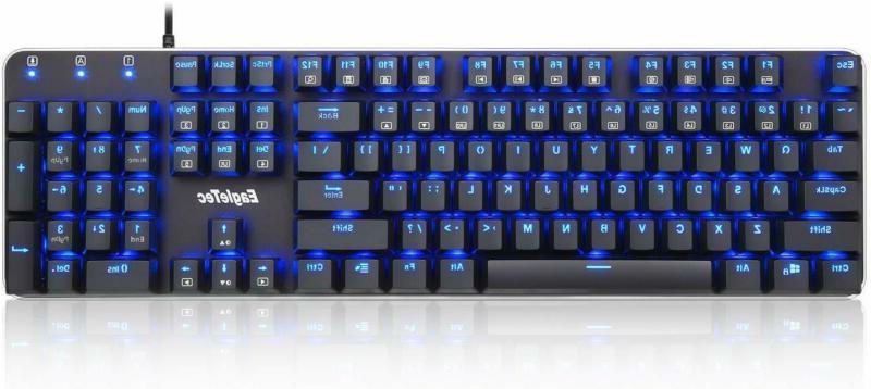 Keyboard, Key Size