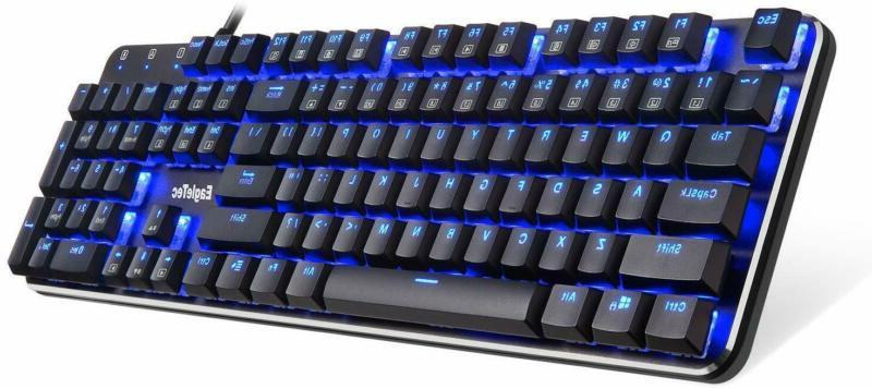 kg050 br mechanical gaming keyboard low profile