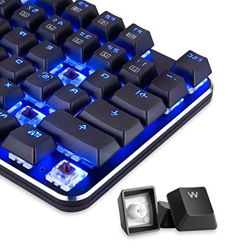 EagleTec KG050-BR Low Profile Key USB with Cherry Brown PC Gamer
