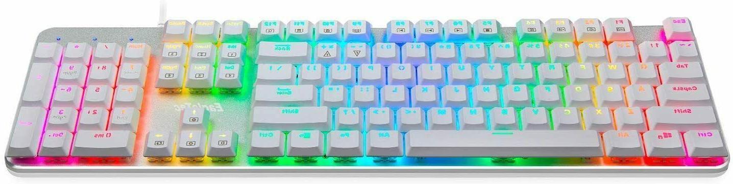 EagleTec KG051 Backlit Mechanical Keyboard