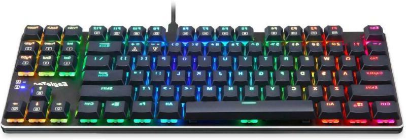 EagleTec KG060-BR Backlit Mechanical Gaming Low