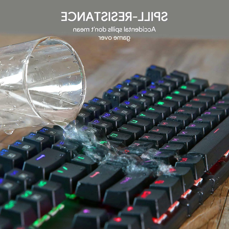 AUKEY KM-G6 LED Backlit Mechanical Keyboard