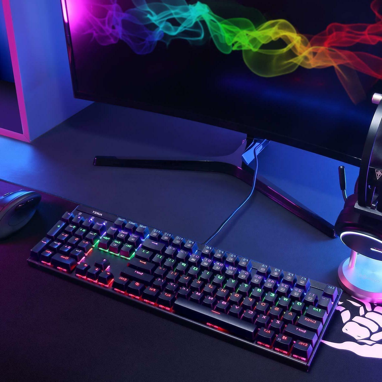 AUKEY LED Mechanical Gaming Keyboard