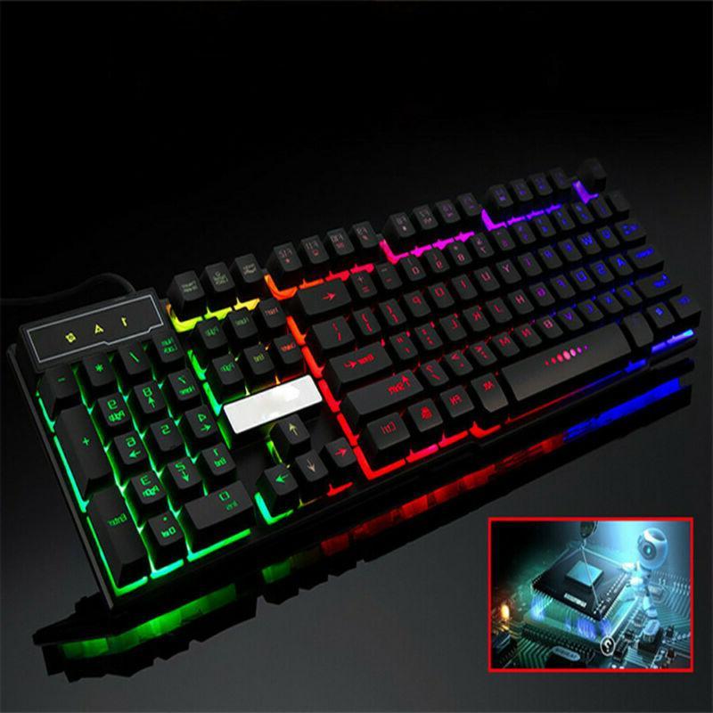 Computer Desktop Keyboard PC Led Light