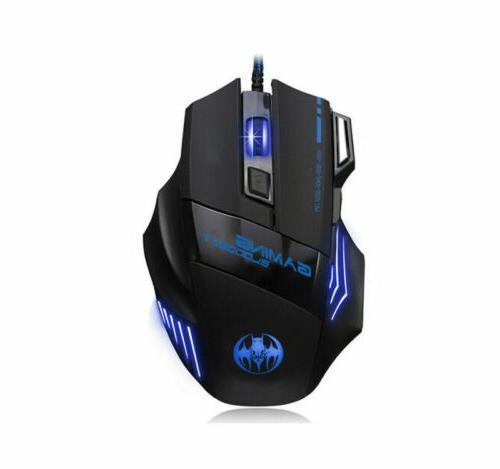 LED & Mouse Feel Breathable Light Backlit PC