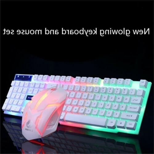 Computer Desktop Gaming Keyboard and Mou