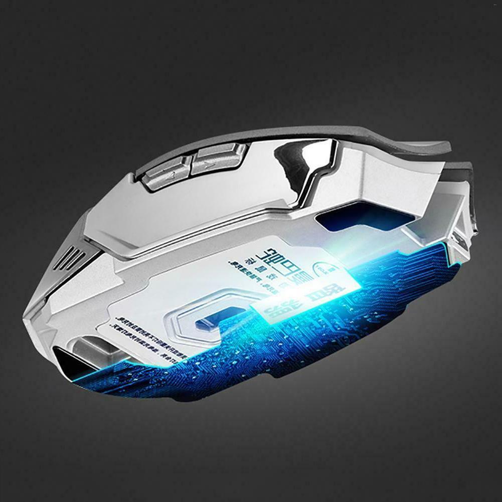 LED Light Computer Gaming Keyboard Set Wireless