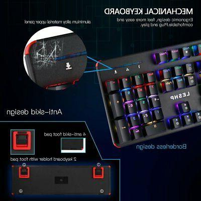 RGB Blue Keys Backlit Led US