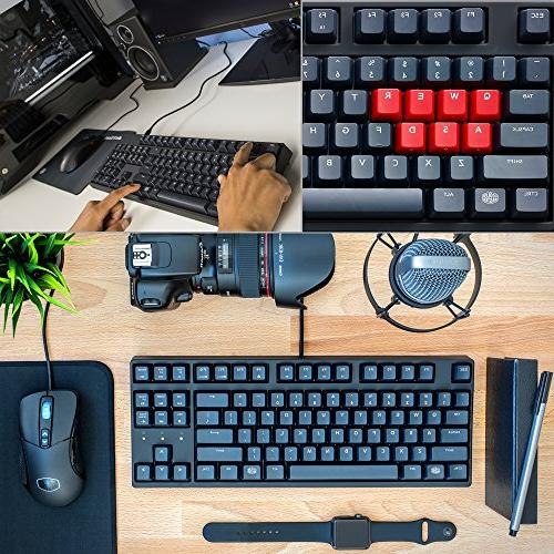 Cooler MasterKeys Keyboard, Cherry w/ Thick 1.5mm PBT