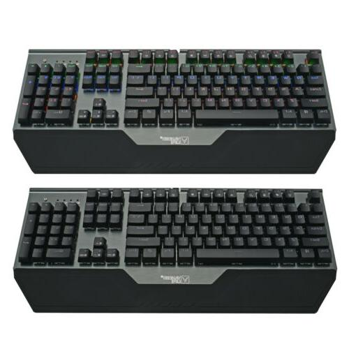 Mechanical Axis Keyboard LED Speed Standard Ergonomic