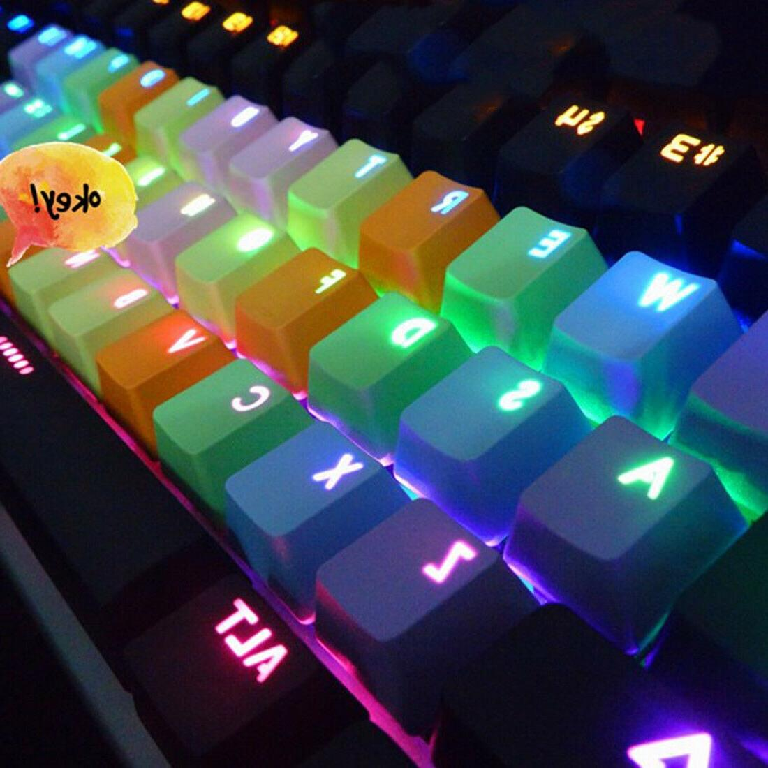 mechanical backlight mini keyboard usb wired keyset