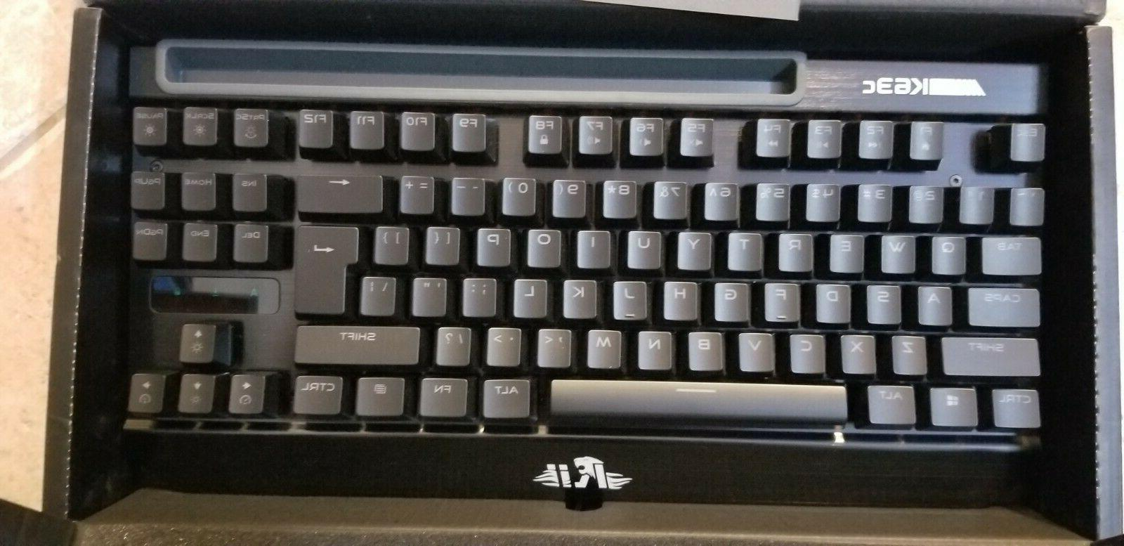 Rii Gaming Keyboard K63C 87 Keys New