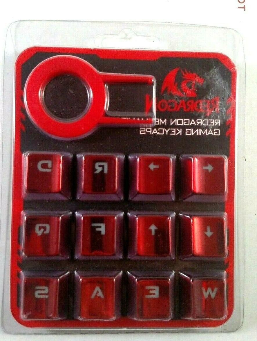 mechanical gaming keyboard 12 key caps
