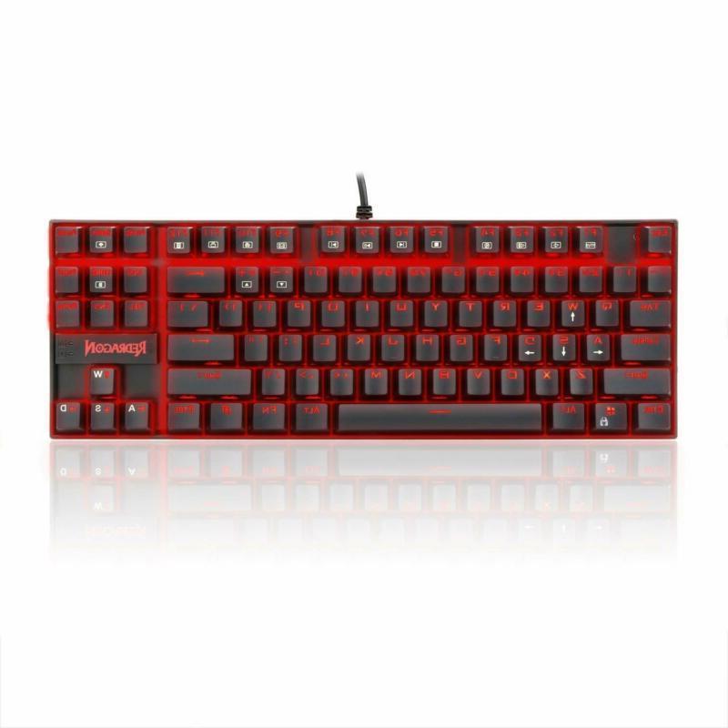 Redragon Gaming K552 KUMARA LED Red Backlight