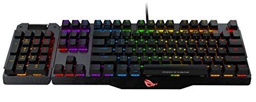 mechanical gaming keyboard rog claymore