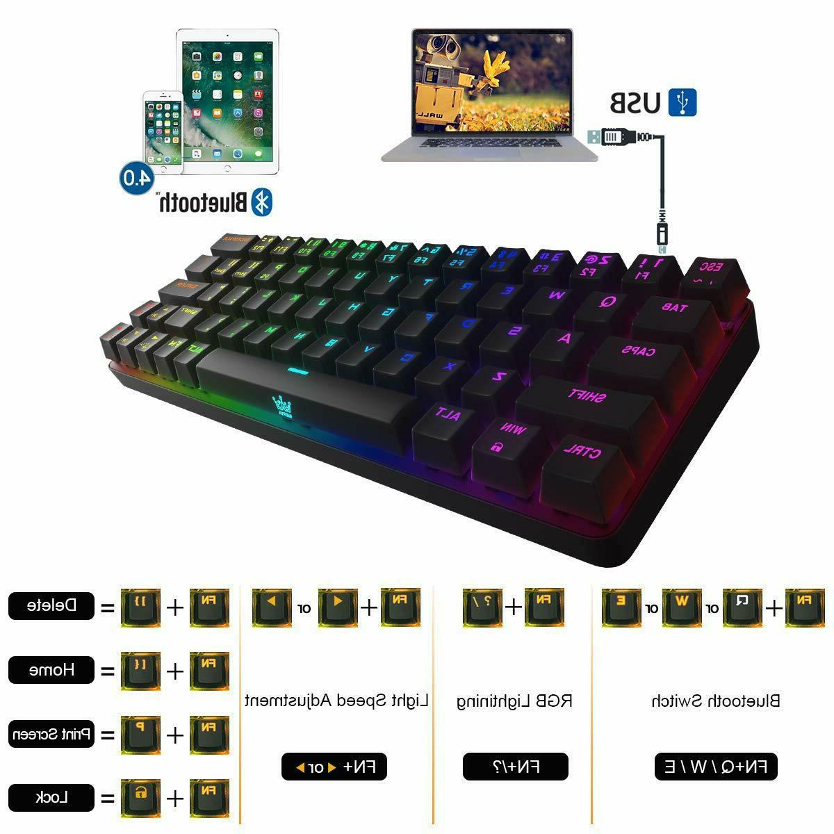 Mechanical RGB Gaming LED