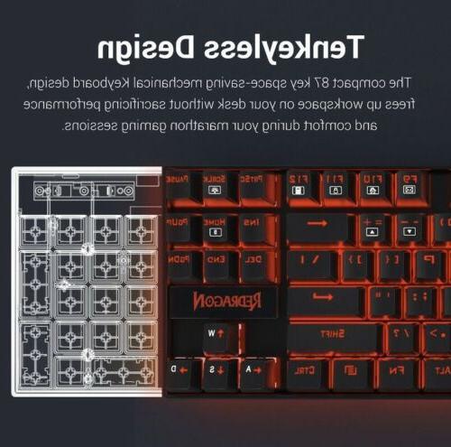 Redragon Keyboard TenKeyLess