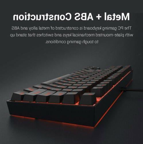 Redragon Mechanical Keyboard TenKeyLess Compact Design