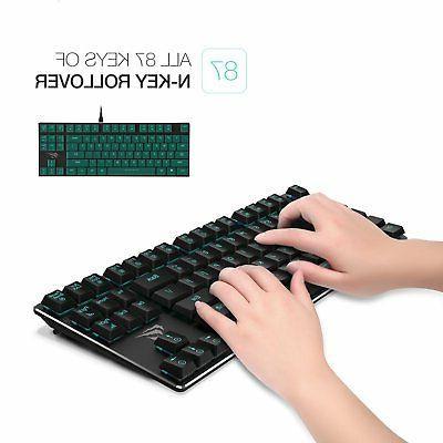 Mechanical Wired Keyboard Light,