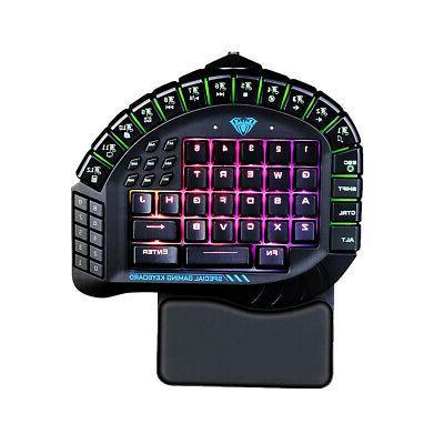 mechanical keyboard control 60 keys single hand