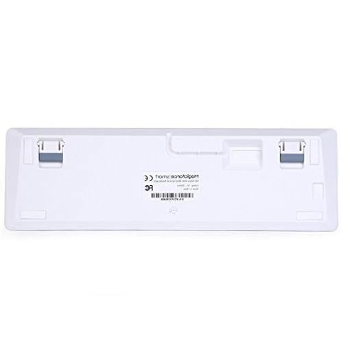 Qisan Keyboard Keyboard Brown Switch Mini Keyboard White