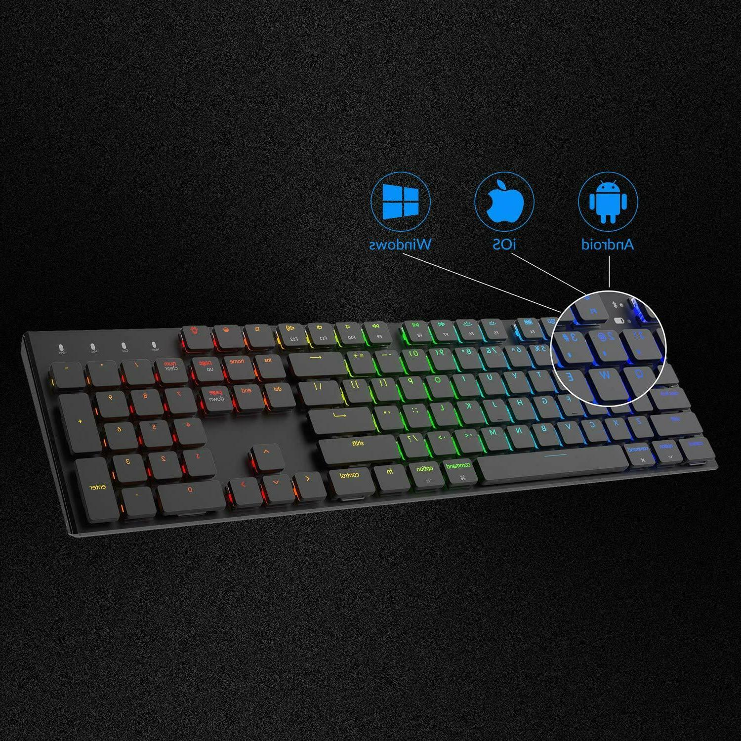 Mechanical Keyboard K1 104 Key RGB Mechanical