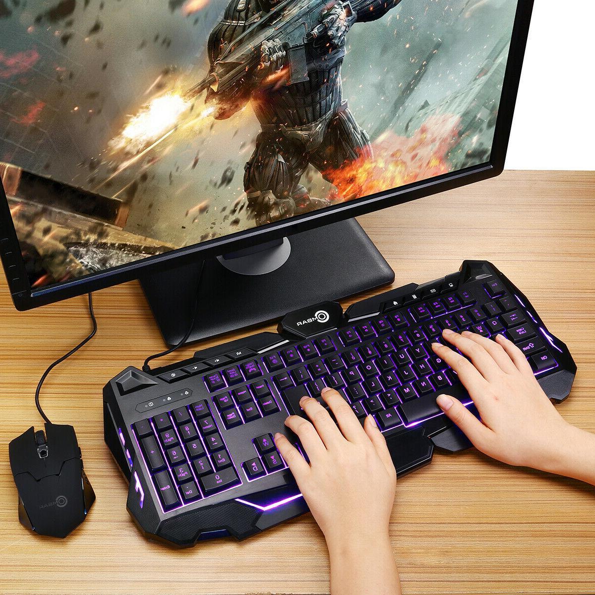 Cool RGB Ergonomic Gaming Keyboard