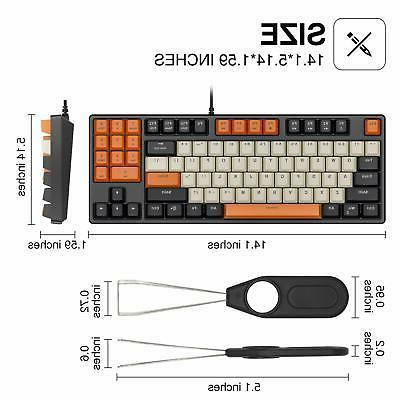 Havit 89 Keys Gaming Red Switch Keyboard
