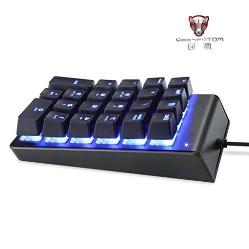 Mini Gaming Keypad Keyboard, Mechanical for Gaming,