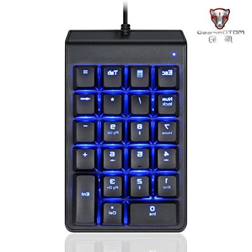 mini wired gaming keypad keyboard