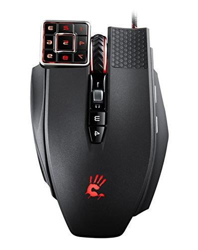 Commander 17-Button Programmable Mouse The Mouse for CAD/Graphic MMORPG Gaming/Scripting &