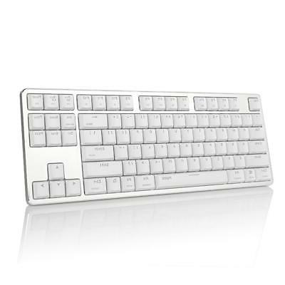 mt500 extra thin mechanical keyboard snow white